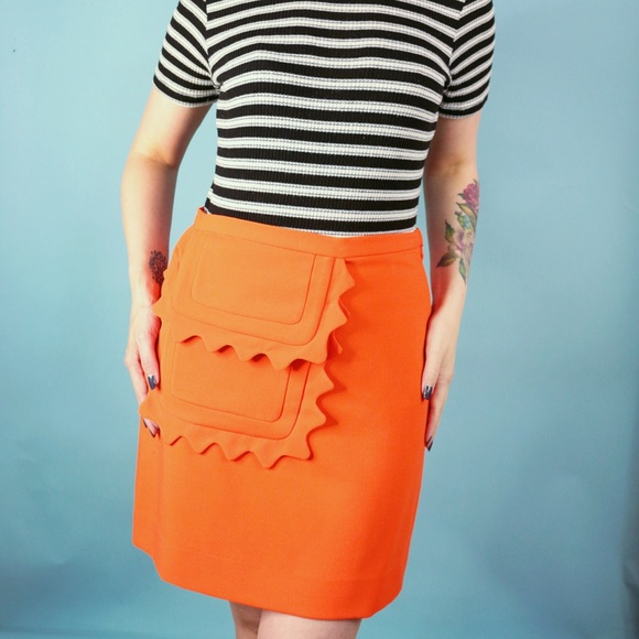 Victoria Beckham for Target Dresses & Skirts - Victoria Beckham x Target Orange Mini Skirt